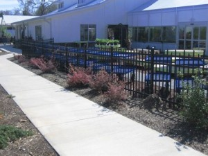 commercial fencing columbus