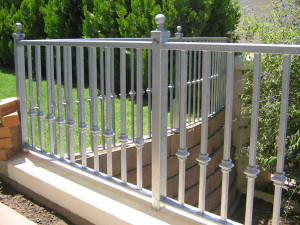 ornamental steel fence