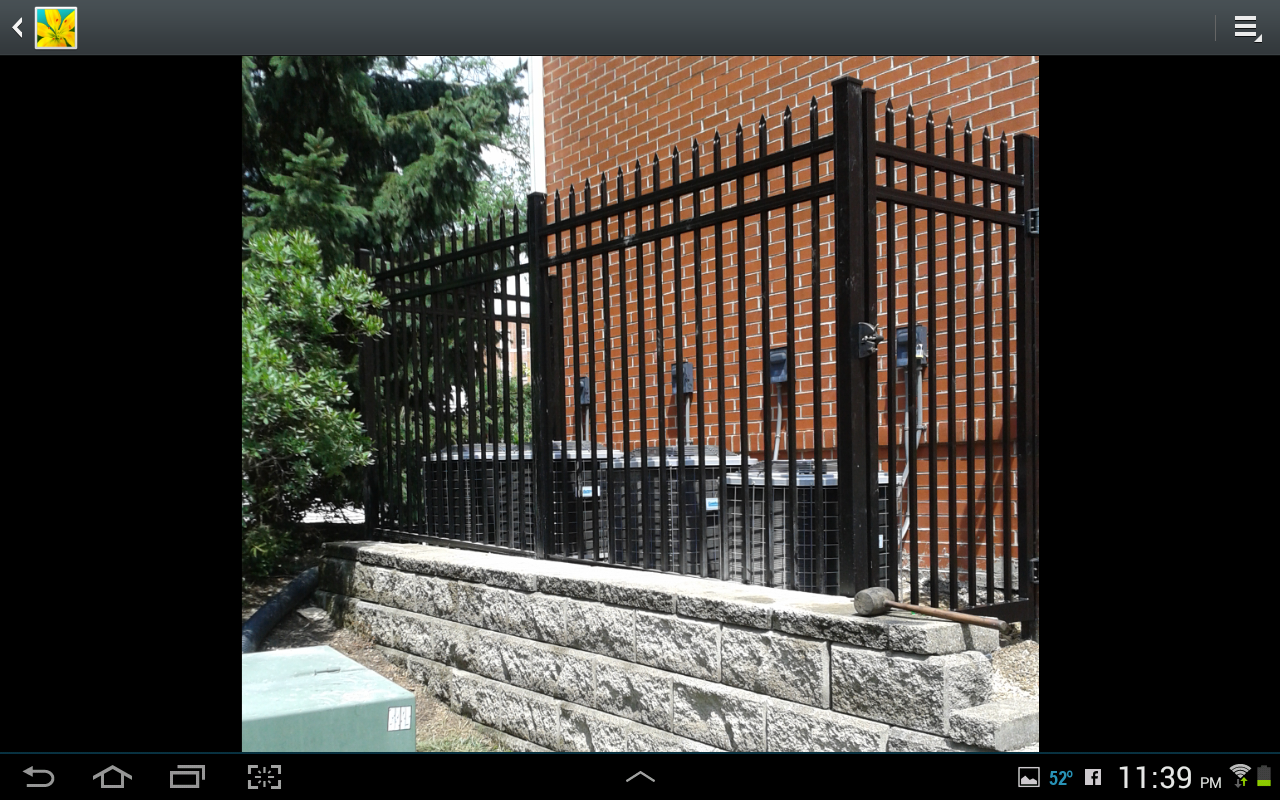 Aluminum Fences Columbus Ohio Aluminum Fencing