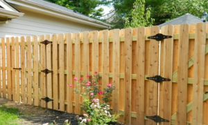 wood picket fence gates