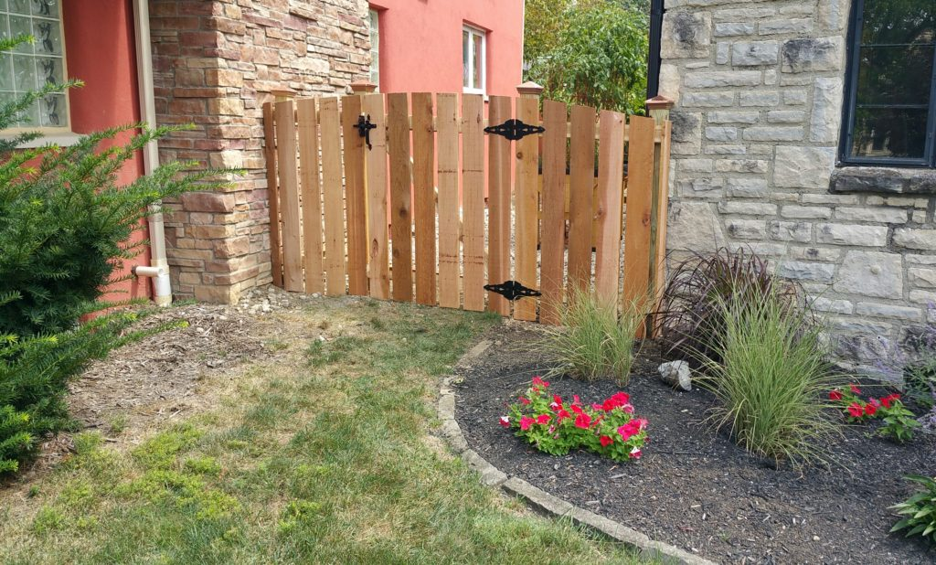 Custom Fences In Columbus Ohio Wood Fences Arched