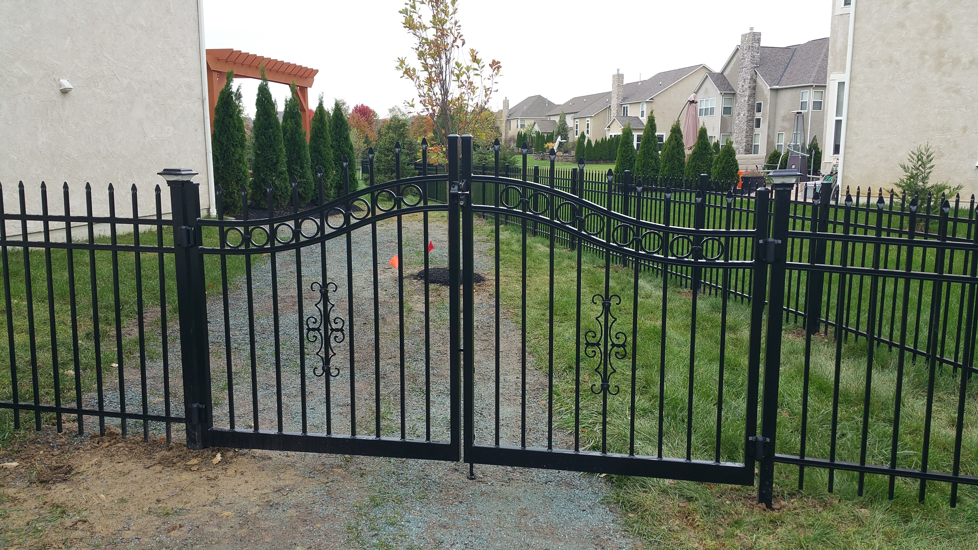 Fences Columbus Ohio Fence Contractors Wood Aluminum