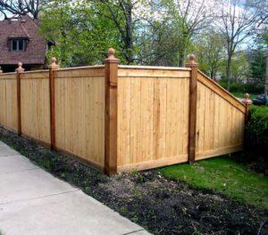 wood fences columbus ohio