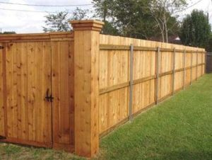 wood privacy fences columbus ohio