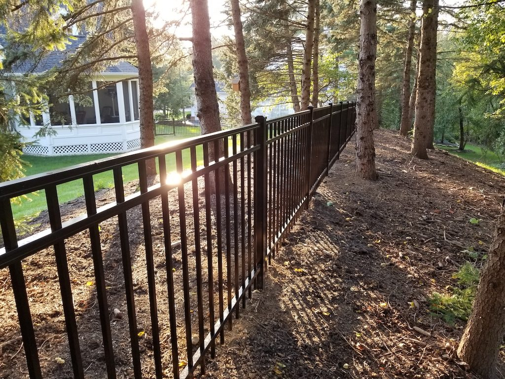 Recent Fence Projects Quality Fences Delaware Ohio
